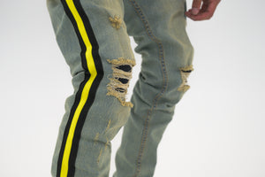 Serenede Tesla Beam Jeans - Yellow