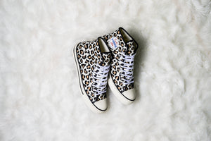 Converse Lucky Star Hi - Driftwood/Light Fawn