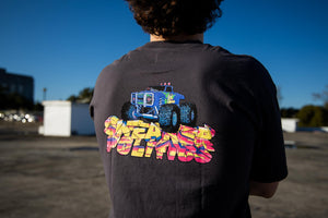 Politics Monster Truck SS Tee - Pepper