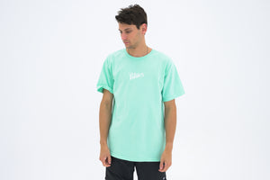 Politics Mini Script Tee - Mint