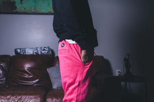 Politics Sweatpants - Magenta