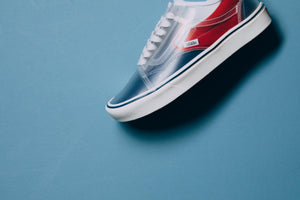 Vans Comfycush Slip Skool - True Navy/Red