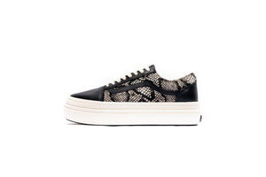 Vans Super Comfycush O (Snake/Pony) - Black/Marshmellow