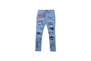 Serenede Liberated Denim - Light Blue