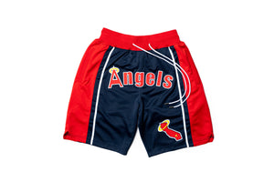 Just Don Los Angeles Angels Shorts - Navy/Red