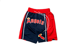 Just Don Los Angels Shorts - Navy/Red