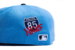 Offset New Era Atlanta Braves 59Fifty Fitted - Blue