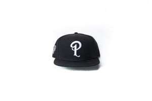 Politics x San Antonio Spurs x New Era 'P' Logo Snapback - Black/White