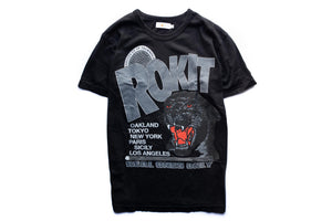 Rokit Revolution Tee - Black