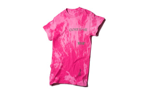 Politics x Darkoveli 'Closer' T-Shirt - Pink