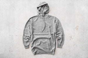 STAMPD Speckle Hooded Sweater - Grey