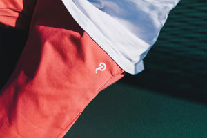 Standard Issue x Politics Slacker Shorts - Salmon