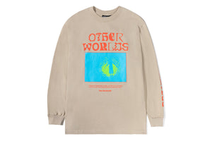 The Hundreds Other Worlds LS T-Shirt - Sand