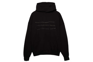 Purple Brand Relaxed Fit Hoodie Thorn - Black