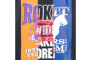 Rokit Triple Threat SS Tee - Black