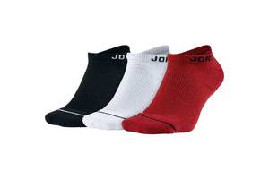 Air Jordan Everyday Max No Show Socks - 3 Pack Multi