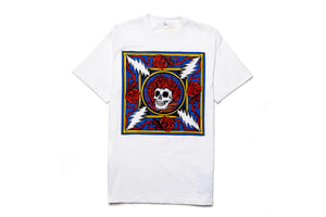 Chinatown Market x Grateful Dead Border Bandana SS Sewn Tee - White/Multi
