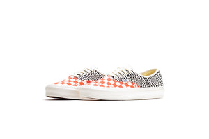 Vans Vault OG Authentic Lx - Logo Check/Flame/Black