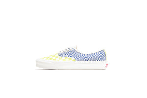 Vans Vault OG Authentic Lx - Logo Check/Lime/Blue
