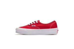 Vans OG Authentic LX - Red/White