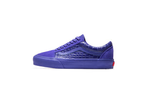 Vans Vault Old Skool LX (Croc Skin) - Deep Blue