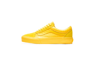 Vans Vault Old Skool LX (Croc Skin) - Lemon Chrome