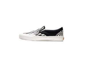 Vans x Baracuta Classic Slip-on - Black/Marshmallow