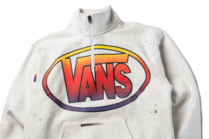 Vans x LQQK Quarter Zip - Ash Heather