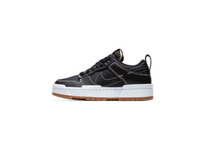 WMNS Nike Dunk Low Disrupt - Black/Fossil/Gum
