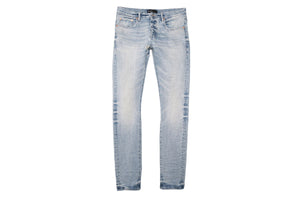 Purple Brand Slim Fit Jeans - Worn Light Indigo
