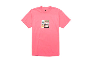 BornxRaised Party Square Tee - Dusty Rose