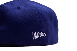 Politics New Era 'P' 59Fifty Fitted - Dark Royal