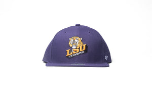 47 Brand LSU Snapback - Purple