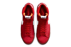 Nike Blazer Mid '77 Suede - University Red/White