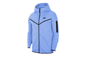 Nike Sportswear Tech Fleece Men's Full-Zip Hoodie - Stone Blue/Black
