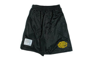 10 Deep Flat Earth Shorts - Black