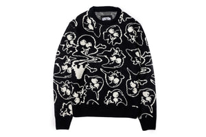 Ice Cream Liquify Sweater - Black