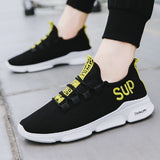 Men's Breathable Sports Shoes Anti-skid Edition Teenagers Running