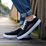 Canvas Leisure Students Low Help Classic Shoes
