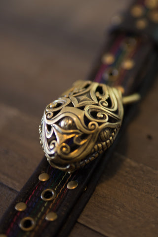 Third Eye Serpent buckle - anahata designs
