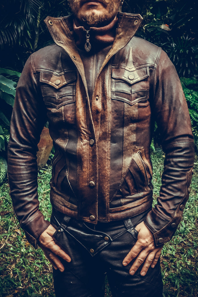 Leather Jackets Design For Men | Alloy Leather Jacket Anahata Designs