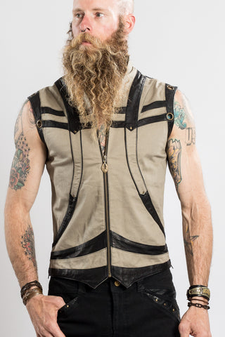 Taurid Denim Vest - anahata designs