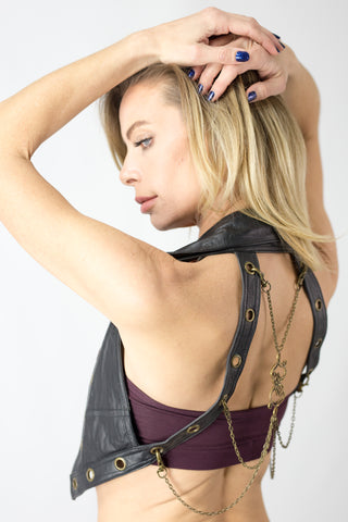 Nexus Vest Leather - anahata designs