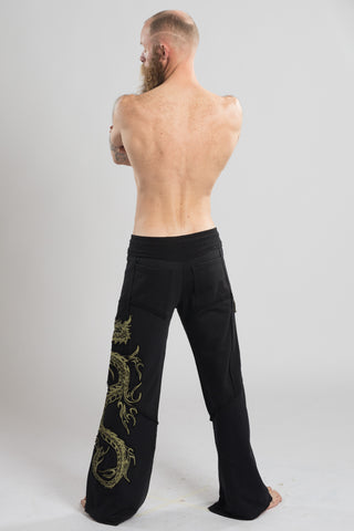 Om Ryuu Terry Pants - anahata designs