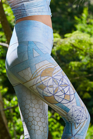 Lady of Light leggings by Jodi Sharp - anahata designs