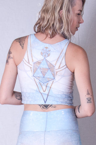 Lady of Light crop top by Jodi Sharp - anahata designs