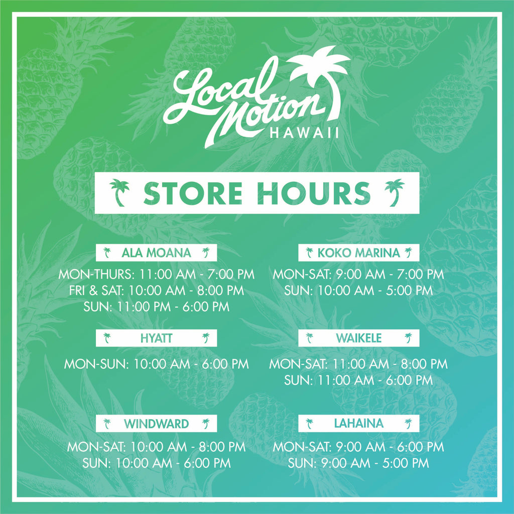 Store Hours (Revised)