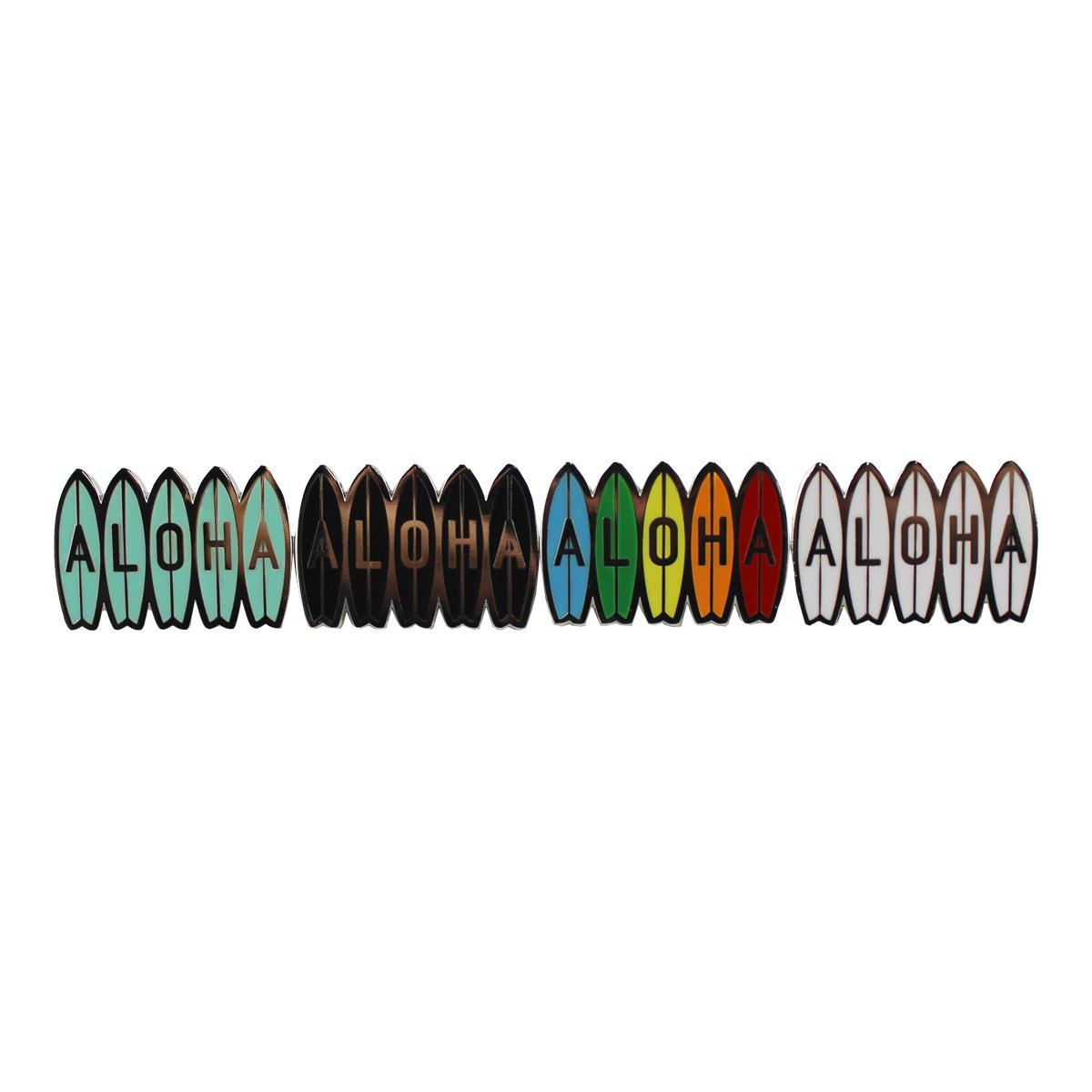 ALOHA BOARDS ENAMEL PIN (ACPIN06)