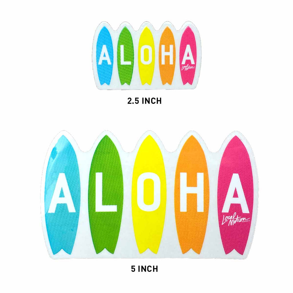 RAINBOW BOARDS DECAL (DECRBOW-A/B)