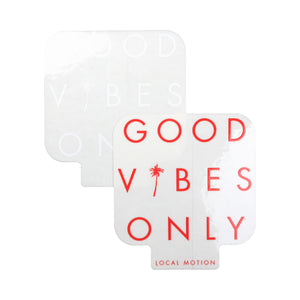 GOOD VIBES DECAL (DECGV)